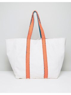 ASOS LIFESTYLE Oversized Colourblock Shopper Bag - Multi