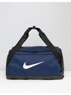 Nike Small Brasilia Holdall Bag In Blue BA5335-410 - Blue