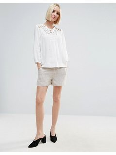 Vero Moda Tailored Shorts - Beige
