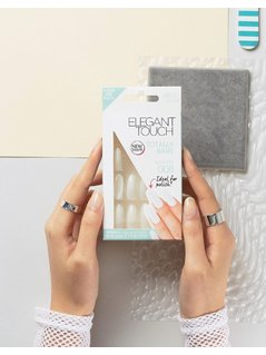 Elegant Touch Totally Bare Almond Nails - Clear