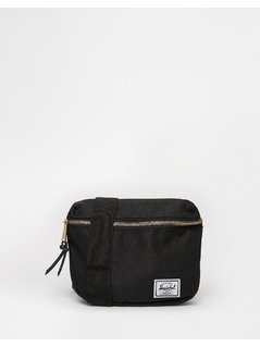 Herschel Supply Co Fiffteen Bumbag in Black - Black