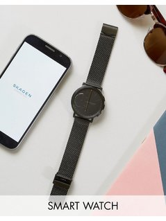 Skagen Connected SKT1109 Hagen Hybrid Smart Watch - Black