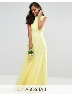 ASOS TALL Wedding Maxi Dress - Yellow