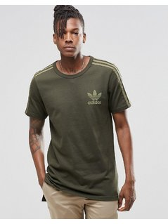 adidas Originals Adicolour Longline Fashion T-Shirt B10712 - Green