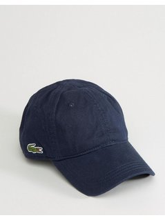 Lacoste Baseball Cap In Navy - Navy
