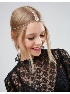 ASOS Crystal Hair Crown - Gold