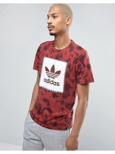 adidas Skateboarding Logo Remix T-Shirt BJ8721 - Red