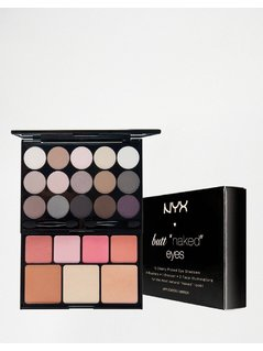 NYX Professional Make-Up - Butt Naked Eye Make Up Palette - Multi
