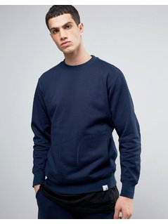 adidas Originals X By O Sweatshirt In Navy BQ3080 - Navy