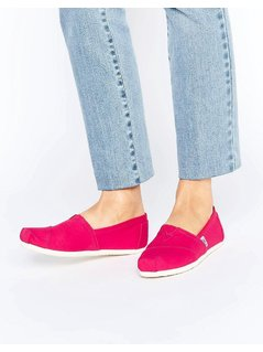 TOMS Raspberry Espadrille - Red