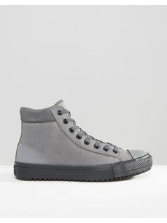 Converse Chuck Taylor All Star Converse Boot PC Plimsolls In Grey 153673C-057 - Beige