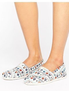 Toms Multi Print Slip on - Multi