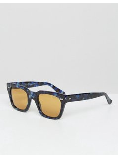 Gucci D Frame Sunglasses - Brown