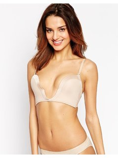 Wonderbra New Ultimate Plunge Bra - Beige