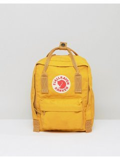 Fjallraven Mini Kanken in Mustard - Yellow