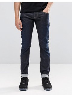 Pepe Finsbury Skinny Jeans Z06 Rinse Wash - Blue