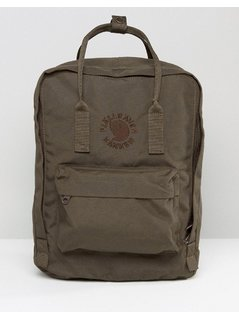 Fjallraven Re-Kanken Dark Olive Backpack - Green