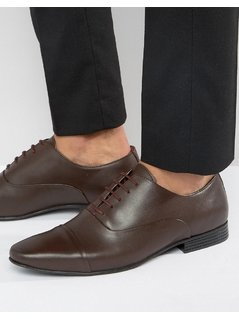 KG By Kurt Geiger Kenwall Oxford Shoes - Brown