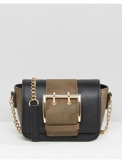 ASOS Mini Buckle Cross Body Bag - Multi