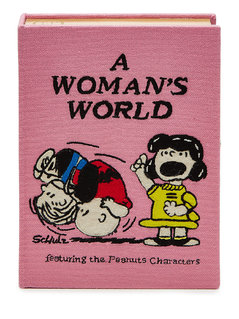 Normal a womans world embroidered clutch gr one size