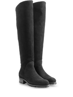 Suede Over-the-Knee Boots Gr. IT 38