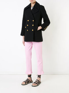 Chanel Vintage cropped sleeved peacoat