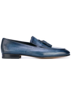 Santoni - Fringed Loafers - Men - Calf Leather/Leather - 7