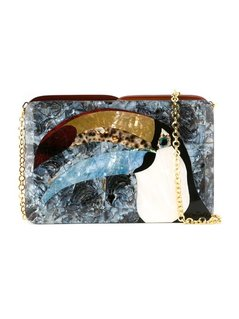 Normal serpui mother of pearl clutch bag