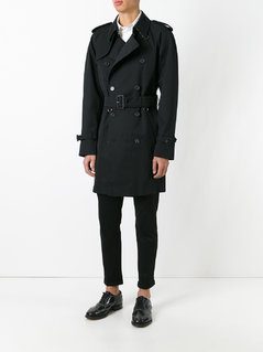 Aquascutum double breasted trench coat
