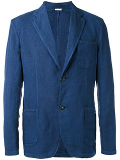 Massimo Alba - Classic Blazer - Men - Cotton/Linen/Flax - 52