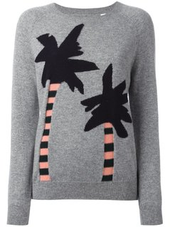 Chinti And Parker - Cashmere Palm Tree Intarsia Jumper - Women - Cashmere - L