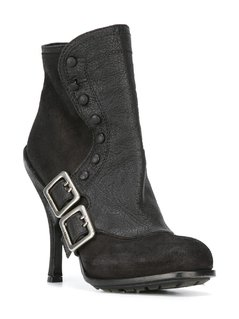 Christian Dior Vintage buckled booties