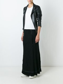 Jean Paul Gaultier Vintage textured maxi skirt