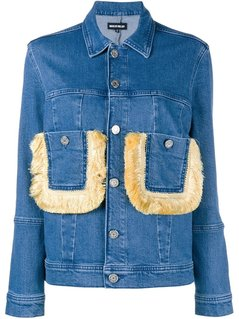 House Of Holland Fringe Pocket Denim Jacket