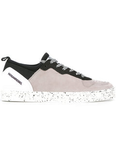 Hogan Rebel - Splatter Print Lace-Up Sneakers - Men - Leather/Nylon/Rubber - 10