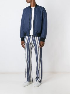 Romeo Gigli Vintage striped trousers