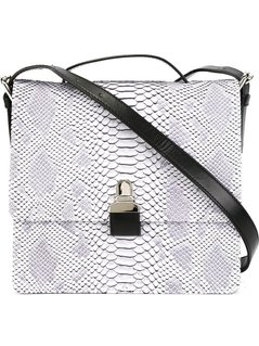 Normal mm6 maison margiela snakeskin effect crossbody bag