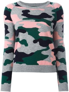 Chinti And Parker - Camouflage Intarsia Jumper - Women - Cashmere/Wool - S