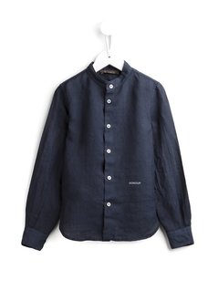 Dondup Kids Band Collar Shirt