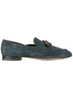 Santoni - Classic Tassel Loafers - Men - Leather/Suede - 9.5