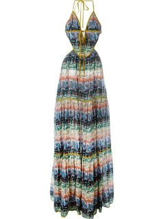 Normal dsquared2 cut out printedl dress