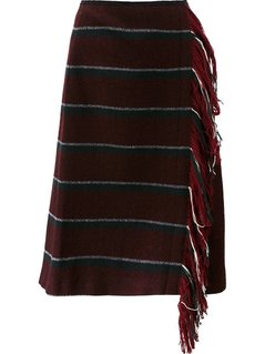 Dorothee Schumacher Fringed Skirt