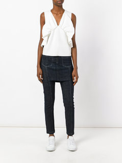 Maison Margiela Vintage slim fit skirt jeans