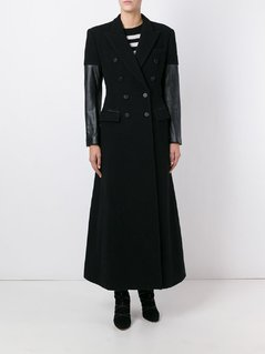 Jean Paul Gaultier Vintage long contrast sleeve coat