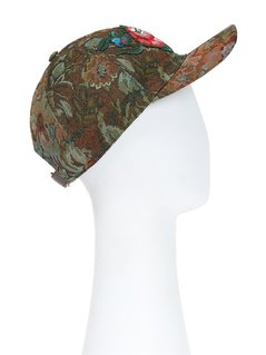 Gucci floral tapestry cap
