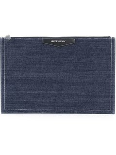 Normal givenchy denim clutch