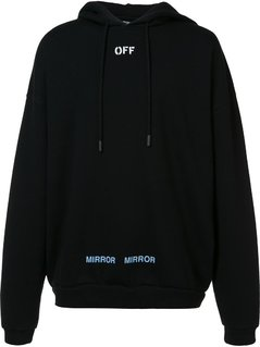 Off-White - Printed Back Hoodie - Men - Cotton - M
