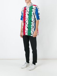 Jc De Castelbajac Vintage cartoon print shirt