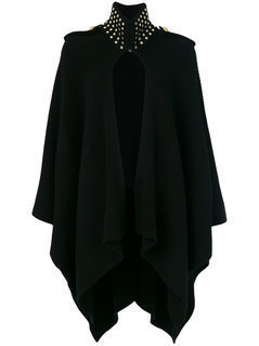 Michael Michael Kors - Knitted Cape - Women - Spandex/Elastane/Cashmere/Wool/Other Fibres - S