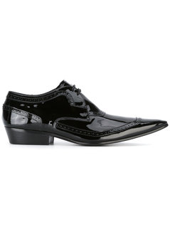 Haider Ackermann - Brogue Detailed Lace-Up Shoes - Men - Leather - 43